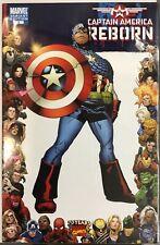 Captain America Reborn #2 Marvel 2009 Comic VARIANT Marvel 70th Anniversary