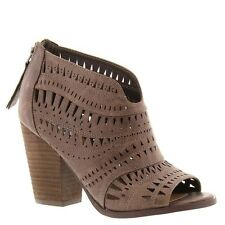 Not Rated Womens Groove Thang Sandals Taupe Booties Size 9M NWB