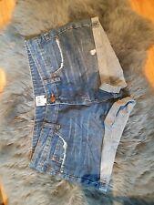 Asos Denim Cut-off Shorts Size 10