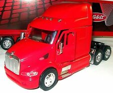 CAMION LONG HAULER PETERBILT RED NEWRAY 1/32 DIECAST TRUCK COLLECTOR'S MODEL,NEW