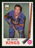 ED JOYAL 69-70 TOPPS 1969-70 NO 108 NRMINT+ WITH STAMP BACK  24310