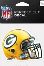 Green Bay Packers Helmet Logo 4x4 Perfect Cut Car Window Decal See Description