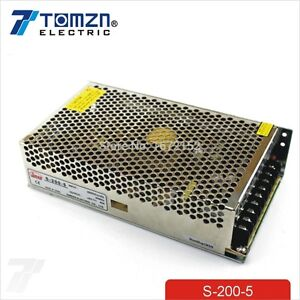 200W 5V 40A Single Output Switching power supply