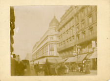 France, Paris, Le Grand Magasin A Réaumur, 1911, vintage citrate print Vintage c
