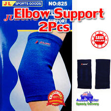 1 Pair Elastic Stretch Elbow Protector Brace Guard Pain Support Sports Gym Strap
