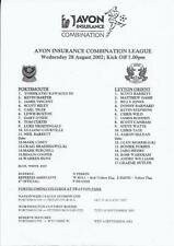 Away Teams L-N Premiership Football Programmes with Reserves