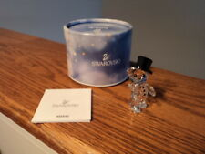 Authentic Swarovski Christmas Kris Bear Crystal Figurine 5136270 Annual Edition