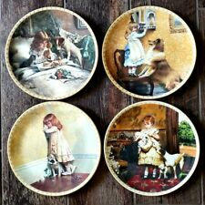 "Collector's Plates #1-4 "" A Victorian Childhood "" 1991-1992 Royal Doulton"