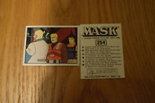 Mask Panini sticker 1986 ( M.A.S.K.  Kenner parker toys ) number 254