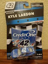 2019 Wave 2 Kyle Larson CreditOne Stars Chicagoland Raced 1/64 NASCAR Authentics