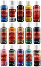 Craft Acrylic Paint Lot 15 Colors 2 Oz Bottles/Tubes Paint Set Artist Supplies