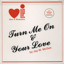 "Jay W. McGee - Turn Me On (Vinyl 12"" - 1980 - EU - Reissue)"