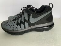Nike Fingertrap Max Training 644673-001 Gray & Black Running Mens Shoes Sz 12