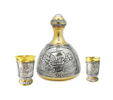 "Silver Drinkware set ""Cossack"""