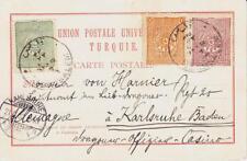 Turkey OTTOMAN-Sc#95,#98,#96-JERUSALEM Palestine MAR/7/1900