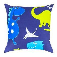 Dinosaurs in the Dark Children's Kids Filled Scatter Cushion Zip Cover Bedroom