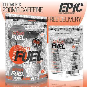 100 x 200mg Caffeine Tablets Pure Pharmaceutical Grade Energy Pills Diet Weight