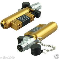 Fashion Jet Torch Windproof Cigar Cigarette Refillable Butane Gas Lighter AM-136