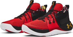 """Under Armour Embiid 1 """"CNY"""" size 10.5 Chinese New Year Red/Black. 3023876 602."""