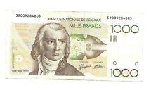 1000 fr - Grétry   - 105 f