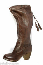 Steve Madden Turner Knee-High Leather Boots Brown Size 8