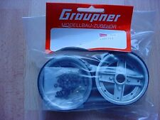 4984/41 Graupner Kyosho Land Jump / Datsun Fairlady Magnesiumfelgen vorne NEU