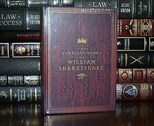 The Complete Works of William Shakespeare New Sealed Hardcover Collectible