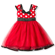 Disney Mouse 1st Birthday Baby Girl Tutu Outfit Dress Red Polka Dot NWT