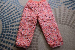 Patagonia kids Girls Fleece insulated Pants 4T Pink