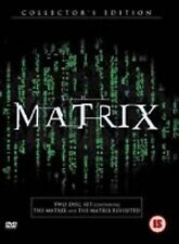 THE MATRIX  2 DISC COLLECTOR'S EDITION THE MATRIX REVISITED UK Region 2 DVD