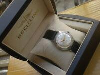 Vintage SWISS Breitling 17 Jewels Manual Men's Watch,1945's