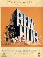BEN HUR 1959 CHARLTON HESTON JACK HAWKINS SAM JAFFE WARNER UK RG2 DVD NEW SEALED