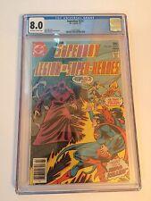 DC Comics Superboy and the Legion of Super Heroes #229 1977 CGC 8.0