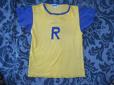 VTG 40s 50s Two Tone Athletic Jersey T Shirt POST Old Sportswear Team Player