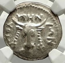 Polyrhenion Polyhernion Crete Authentic Ancient Silver Greek Coin Ngc i76862