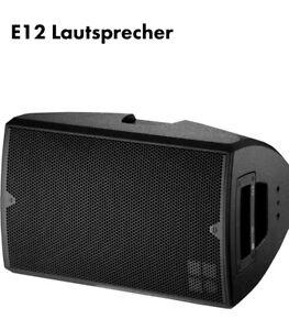 PA monitor Lautsprecher  D&B  model E12  Professioneller Box Passiv 1 Top