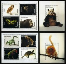 2017 Animals of the World, fauna, National Geographic, 10 sets/countries, MNH