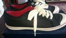 Ralph Lauren Polo Casual Zapatillas de Reino Unido 6 Negro/Blanco