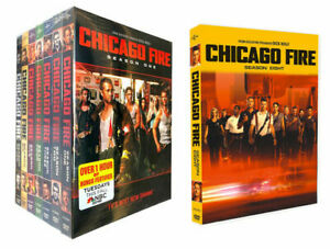 CHICAG0 FIRE : COMPLETE SERIES 1-8 , DVD , FREE SHIPPING, NEW.