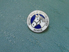 BRANSBY HOME OF REST FOR HORSES - MEMBER - LINCOLNSHIRE ENAMEL PIN BADGE