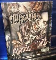 Twiztid - Abominationz CD Madrox Cover insane clown posse dark lotus jamie blaze