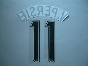 V.Persie NAME + NUMBER Official Arsenal FC Away 2006-2007 Champions League
