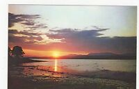 Scotland, Sunset Over Beauly Firth, Inverness-shire Old Postcard, A499