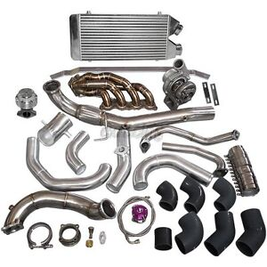 CXRacing Turbo Intercooler for 01-06 Civic Integra DC5 K20 RSX Sidewinder Black