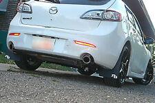 2nd Gen Mazda3 Speed3 Rally Mud Flaps by RokBlokz '10 '11 '12 mudflaps 2010-2012