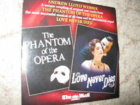 Lloyd Webber Phantom of the opera /  love never dies