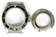 Brand new black silver color bezel Dive Master watch case for ETA 2824 ETA 2836
