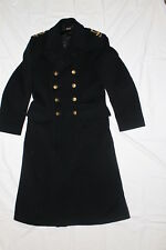 WW2 Canadian Navy RCN Greatcoat Dated and Named