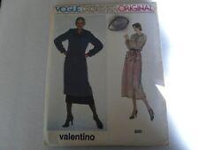 Vintage Vogue Designer Original 2051 Valentino  Dress Tunic Skirt size 12