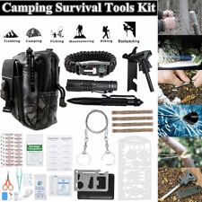 65 in 1 Outdoor Survival Kit Camping Tactical Hunting Emergency EDC Tools Bag